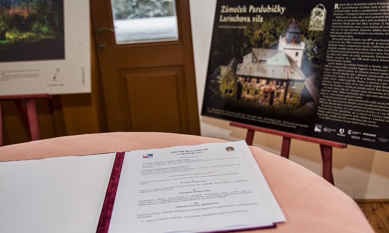 KVV Pardubice a ČsOL podepsali Memorandum o spolupráci