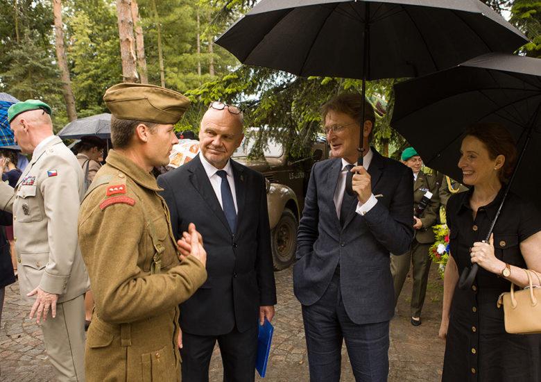 Nick Archer, britský velvyslanec, navštívil Zámeček